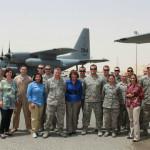 Susan Davis in Afghanistan