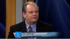 Tim Sullivan, former U-T San Diego sports columnist. Image via sportsrants.com