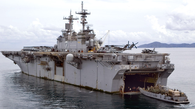 The USS Essex. Courtesy of Wikipedia.