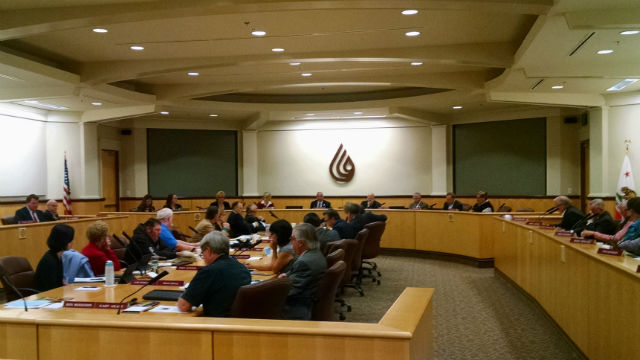 The San Diego County Water Authority Board meets Thursday in Kearny Mesa. Photo by Chris Jennewein