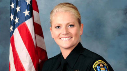 Officer Heather Seddon. Photo courtesy of the San Diego Police Department