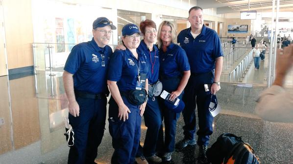 The Scripps Health Team at Lindbergh Field departing for Nepal. Photo courtesy of Scripps Health