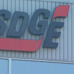 Sign on SDG&E building