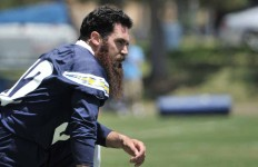 Charger safety Eric Weddle attends the firstr day of mini camp and ponders his future.