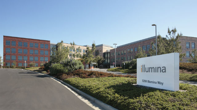 The illumina campus in University City. Courtesy of the company
