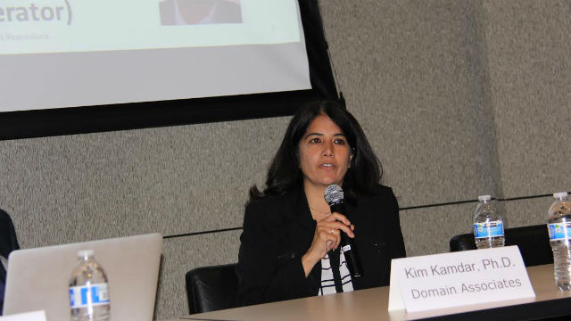 Kim Kandar of the venture capital firm Domain Associations. Photo by Rosalynn Carmen