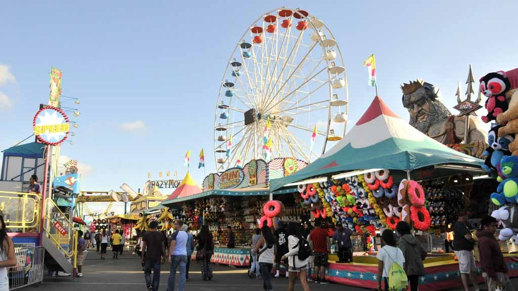 The san diego county fair is closed monday and tuesday but it s a