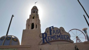 """The theme for the fair is """"A Fair to Remember, A Celebration of World's Fairs and Balboa Park,"""" and commemorates the centennial anniversary of the 1915 Panama – California Exposition held in Balboa Park."""