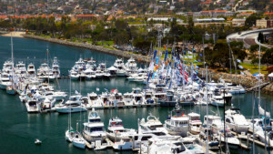 The San Diego International Boat Show.