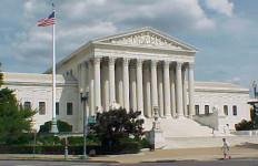 The U.S. Supreme Court building in Washington. Photo by DB King via Wikimedia Commons