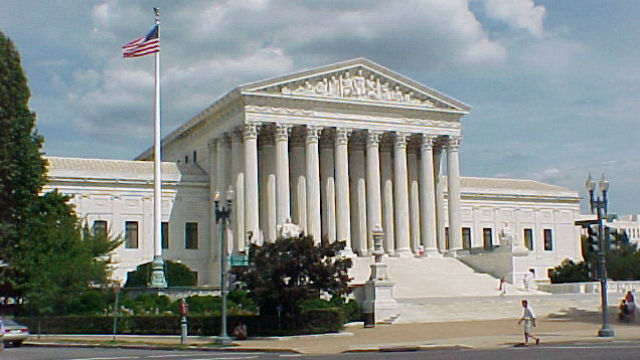 The U.S. Supreme Court building in Washington. Photo by DB King via Wikimedia Commons
