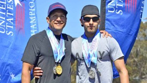 Andrew Castro, 51, of the LAPD was the oldest competitor and his son, Matt Castro, 27, also of the LAPD was the youngest competitor.