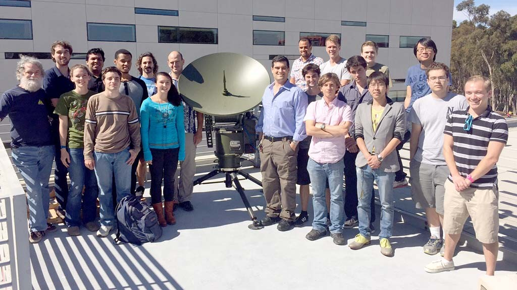 Brian Keating's Cosmology Group. Image via cosmology.ucsd.edu