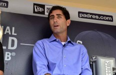 Padres General Manager A.J. Preller spoke to the media about the Bud Black firing and the future of the ball club. Photo by Chris Stone