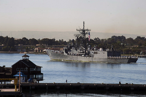 The USS Gary. Photo courtesy of the U.S. Navy.