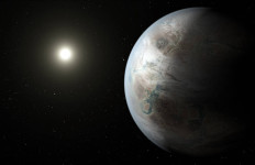 An artist's rendering of what Kepler-452b might look like. Photo courtesy of NASA.