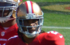 C.J. Spillman with the 49ers in 2013. Photo by Daniel Hartwig via Wikimedia Commons