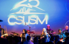 Musicians perform at Cal State University San Marcos' 25th anniversary gala. Courtesy CSUSM