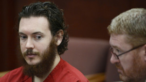 James Holmes and his defense attorney Daniel King (right) sit in court for an advisement hearing at the Arapahoe County Justice Center in Centennial, Colorado, June 4, 2013.  Reuters photo