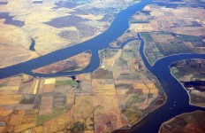 The Sacramento-San Joaquin River Delta, the area affected by HR 2829. Photo Courtesy of Wikimedia Commons
