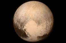 The last photo of Pluto sent to Earth from New Horizons before its final approach to the distant planet. NASA photo