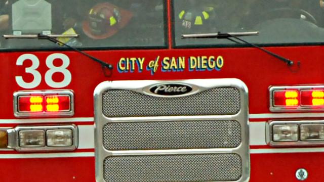 San Diego fire truck