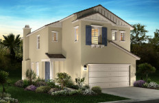 Architect's rendering of a home in the Serra community. Courtesy Shea Homes