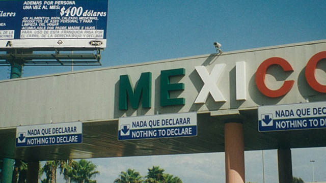 The San Diego-Tijuana Border. Photo courtesy of Wikimedia Commons