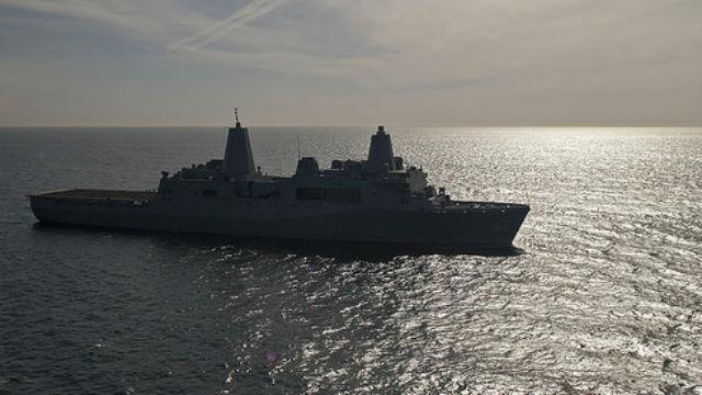 USS San Diego 640-360