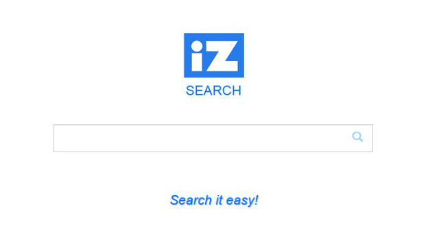 The search box on the home page of iZsearch.