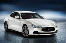 A white 2015 Maserati Ghibli, similar to the one Marcus Lee Allen stole. Photo courtesy of Maserati
