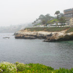 Cloudy La Jolla cove