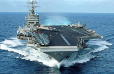 USS George Washington. U.S. Navy photo by Photographer's Mate 3rd Class Summer M. Anderson