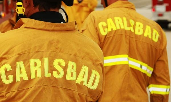 Carlsbad firefighters
