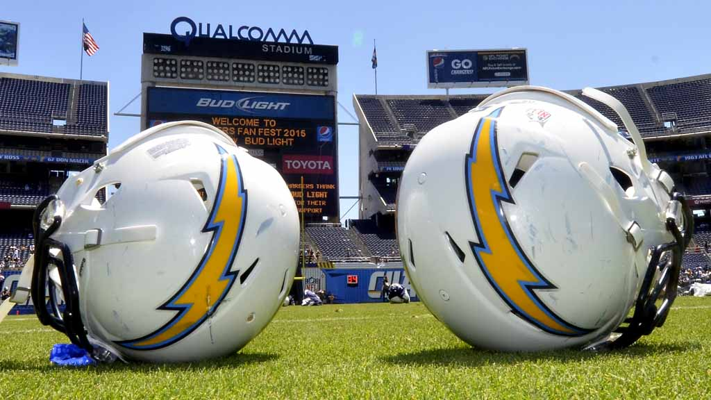 chargers reveal 2016 season will open in kansas city times of san