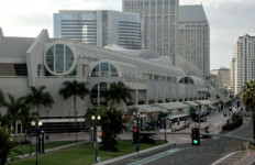 The San Diego Convention Center.  Photo by Chris Stone