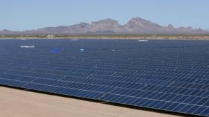 Sempra's Mesquite solar installation. Photo courtesy U.S. Department of Energy