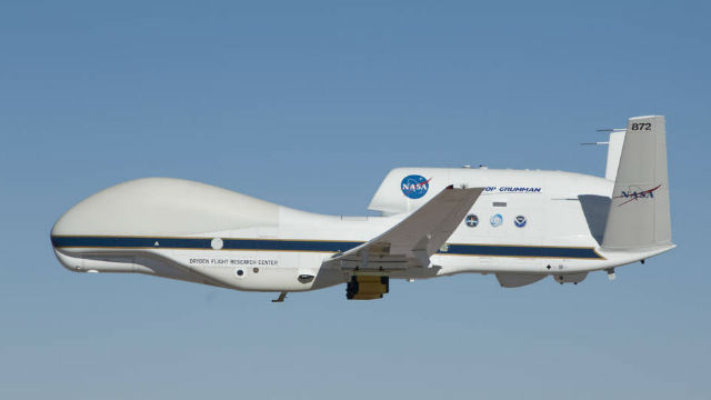 One of the space agency's two Global Hawks. Courtesy NASA