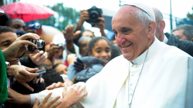 Pope Francis in Brazil. Photo via Wikimedia Commons