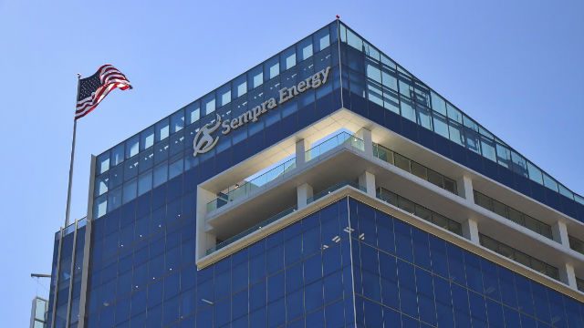 Sempra Energy's headquarters in downtown San Diego. Photo courtesy of Sempra
