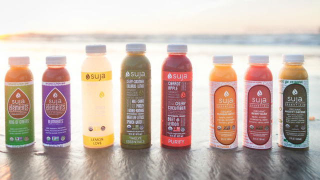 A selection of Suja Juice products. Courtesy of the company
