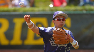 A pitch in the first game of the series. Courtesy Little League World Series