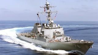 USS Higgins. U.S. Navy Photo by Photographer's Mate 2nd Class Frederick McCahan