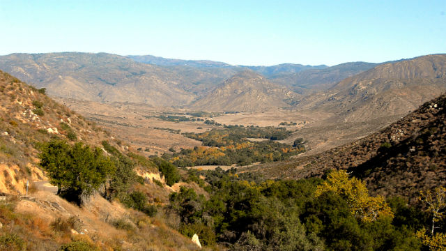 Site of the Pamo Valley Extension of the Coast to Crest Trail. Courtesy San Dieguito River Valley Conservancy