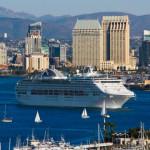 Cruise ship departs San Diego