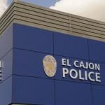 El Cajon Police sign