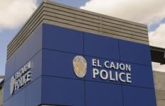 Exterior of El Cajon Police Department headquarters. Courtesy of the department