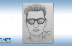 Authorities say this is the man seen pleasuring himself in front of children. Image courtesy of the San Diego Sheriff's Department