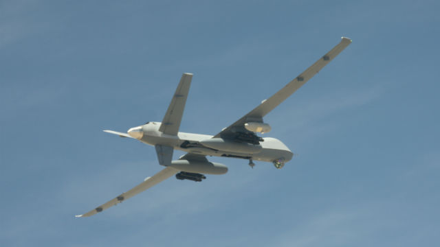 The MQ-9 Reaper Extended Range remotely piloted aircraft. Courtesy General Atomics