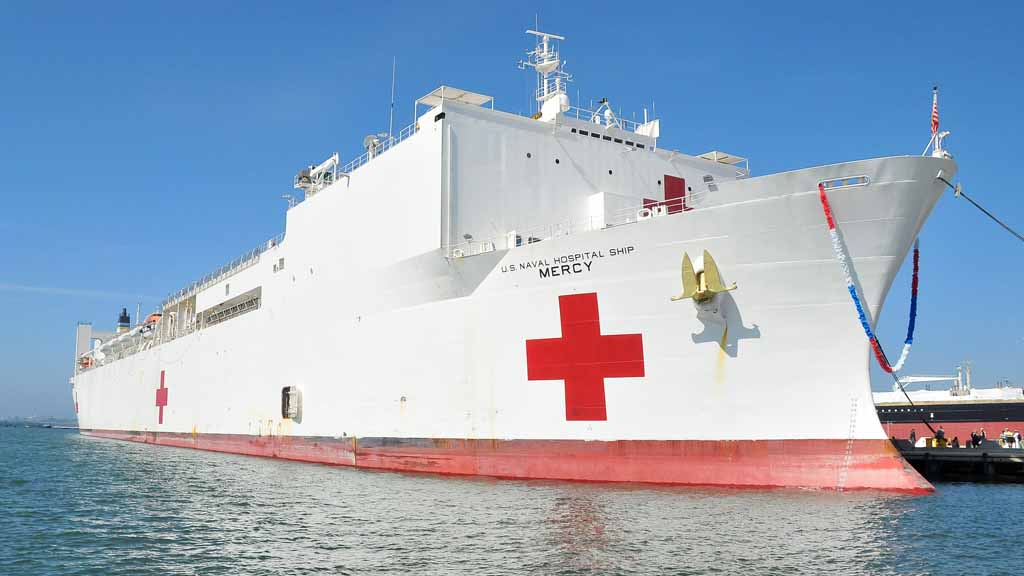 Hospital ship usns mercy leaving for indo pacific mission friday usns mercy stopboris Images